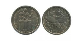1 Franc Nouvelle Calédonie
