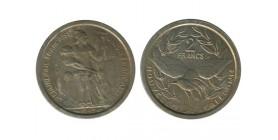 2 Francs Nouvelle Calédonie