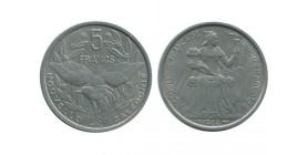 5 Francs Nouvelle Calédonie