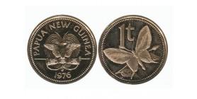 1 Toea Nouvelle Guinée Papouasie