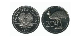 20 Toea Nouvelle Guinée Papouasie