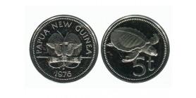 5 Toea Nouvelle Guinée Papouasie