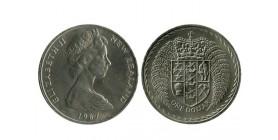 1 Dollar Elisabeth II Nouvelle Zélande