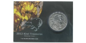 1 Dollar Kiwi Nouvelle Zélande Argent