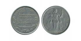 5 Francs Océanie Française