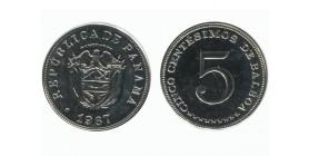 5 Centimes Panama