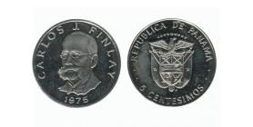 5 Centimes Carlos J. Finlay Panama