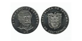 50 Centimes Fernando de Lesseps Panama