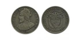 10 Centimes Panama Argent