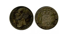 1 Florin Guillaume II Pays - Bas Argent