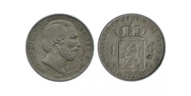 1 Florin Guillaume III pays - bas argent
