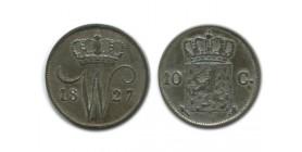 10 Cents Guillaume Ier Pays - Bas Argent