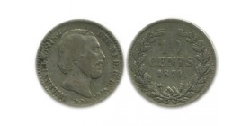 10 Cents Guillaume III Pays - Bas Argent