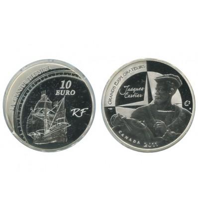 10 Euros Jacques Cartier