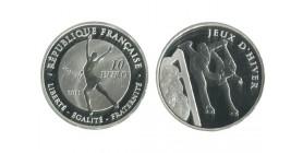 10 Euros Jeux D'hiver - Patinage