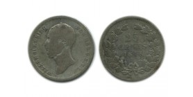 25 Cents Guillaume II Pays - Bas Argent