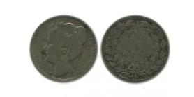 25 Cents Wilhemine Pays - Bas Argent