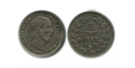 5 Cents Guillaume III Pays - Bas Argent