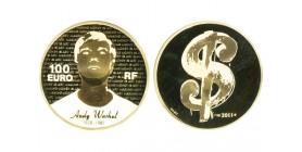 100 Euros Andy Warhol
