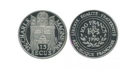15 Ecus / 100 Francs Charlemagne
