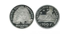 15 Ecus / 100 Francs Descartes