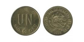 1 Sol Pérou