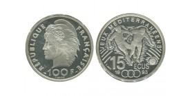 15 Ecus / 100 Francs Football