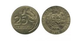 25 Centavos Pérou