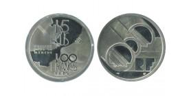 15 Ecus / 100 Francs Eurotunnel
