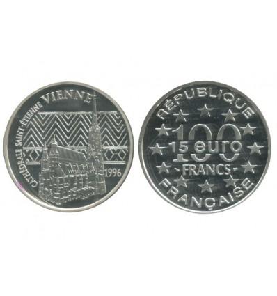 15 Euro / 100 Francs Vienne Monuments de l'Europe