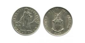 20 Centavos Philippines Argent