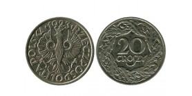 20 Groszy Pologne