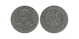 20 Zloty Pologne