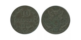 10 Groszy Pologne - Occupation Russe