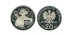 20 Zloty Pologne Argent