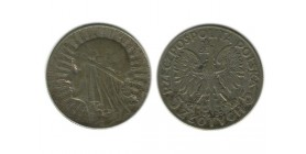 5 Zloty Pologne Argent
