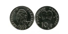 10 Francs Polynésie