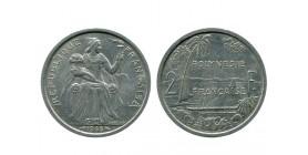 2 Francs Polynésie