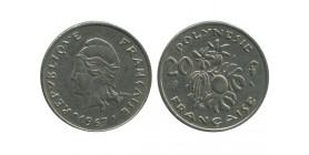 20 Francs Polynésie