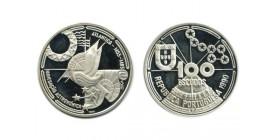 100 Escudos Portugal Argent