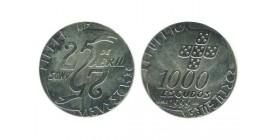 1000 Escudos Portugal Argent