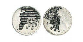 2 1/2 Euros Portugal Argent