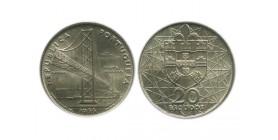 20 Escudos Portugal Argent