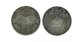 250 Escudos Portugal Argent