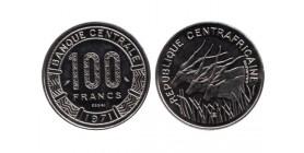 100 Francs République Centrafricaine