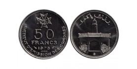 50 Francs République des Comores
