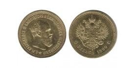 5 Roubles Alexandre III Russie