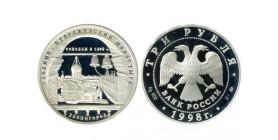 3 Roubles Russie Argent