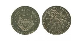 20 Francs Rwanda