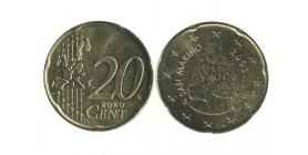 20 Centimes Euro Saint Marin